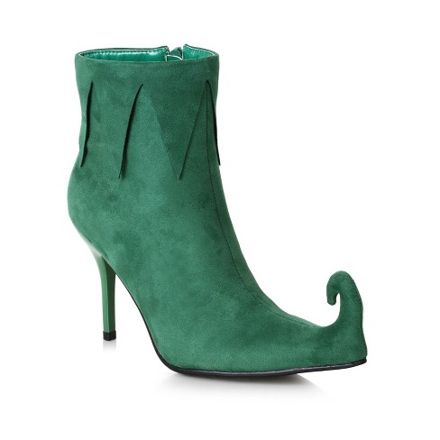 Adult Holiday Costume Boots Green - image 1 of 1
