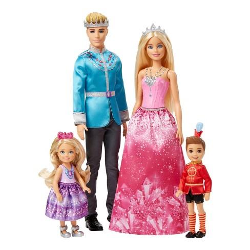 Barbie Dreamtopia Dolls Giftset 4pk - image 1 of 4