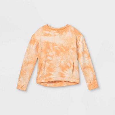 Girls' Lightweight Fleece Pullover Sweatshirt - All in Motion™
