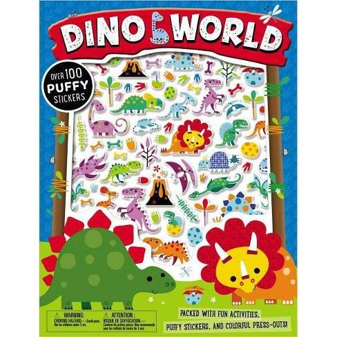 Puffy Stickers Dino World - by  Make Believe Ideas Ltd (Paperback) - image 1 of 1