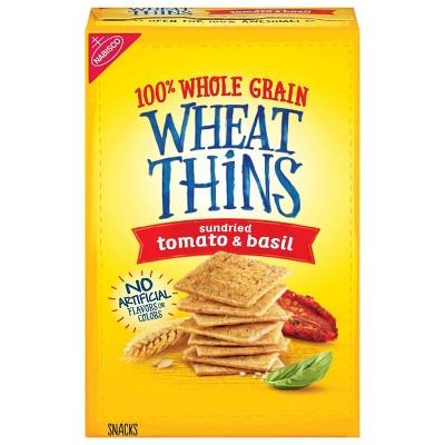 Wheat Thins Sundried Tomato And Basil Crackers - 9oz