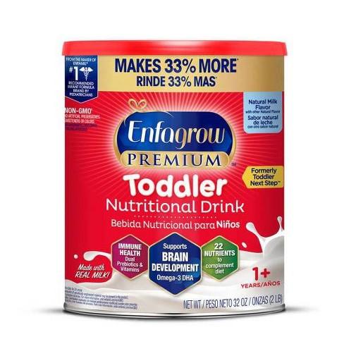 Enfamil Premium, Non-GMO Toddler Next Step Formula Powder - 32oz - image 1 of 3