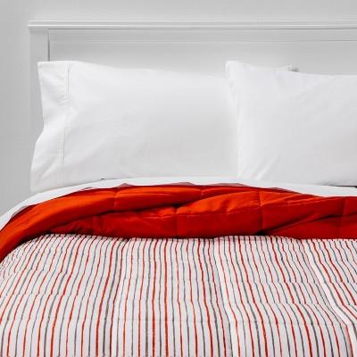 Microfiber Stripe Reversible Comforter - Room Essentials™