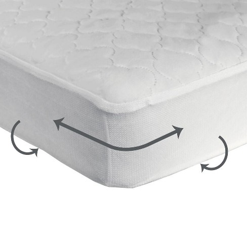 Sealy Cozy Dreams Waterproof Fitted Crib Mattress Pad Target