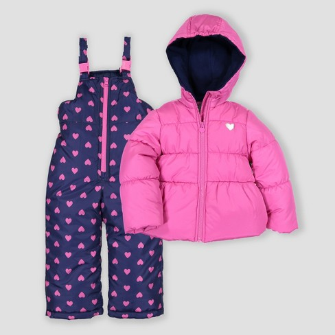 5df1d0d8c Toddler Girls  2pc Snowsuit Just One You® Made By Carter s Fuchsia ...