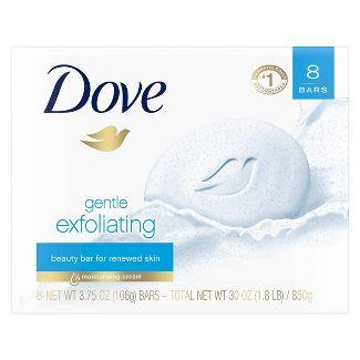 Dove Gentle Exfoliating Beauty Bar Soap - 3.75oz/8ct
