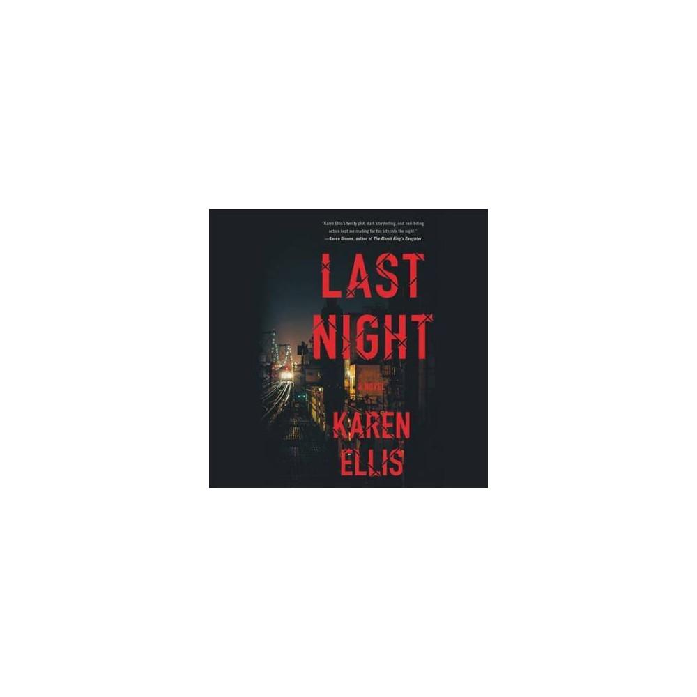 Last Night - (Searchers) by Karen Ellis (Pre-recorded digital audio player)