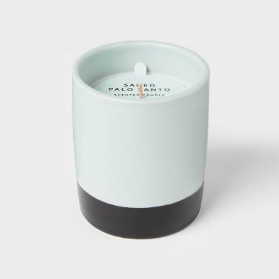 7oz Glass Jar Saged Palo Santo Candle - Room Essentials™