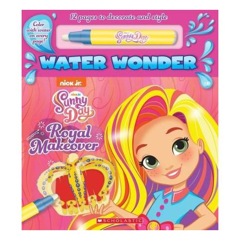 Royal Makeover : Sunny Day Water Wonder Book -  BRDBK (Hardcover) - image 1 of 1