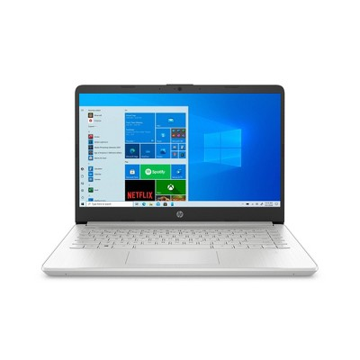 "HP 14"" Laptop with Windows 10 Home in S mode - Intel Core i3 11th Gen Processor - 4GB RAM Memory - 128GB SSD Storage - Silver (14-dq2031tg)"