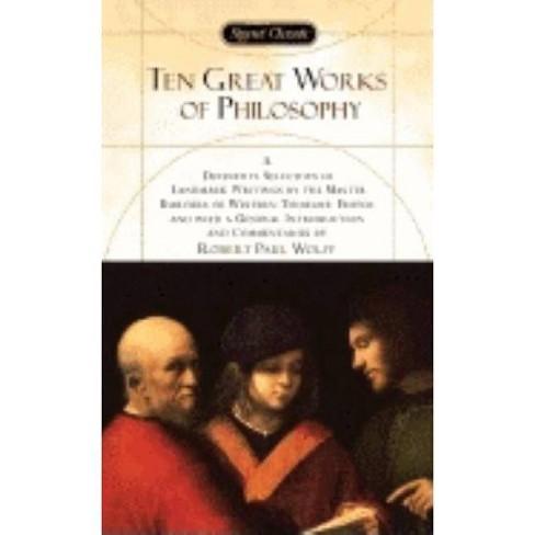 Ten Great Works of Philosophy - (Paperback) - image 1 of 1