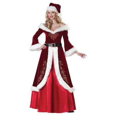 Adult Mrs. St Nick Halloween Costume - S