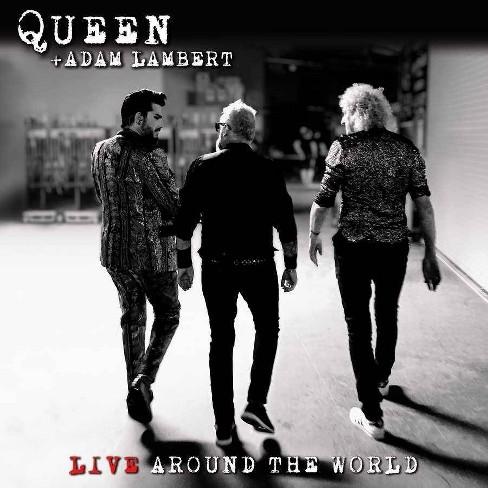 Queen & Adam Lambert - Live Around The World (Blu-ray) (CD) - image 1 of 3