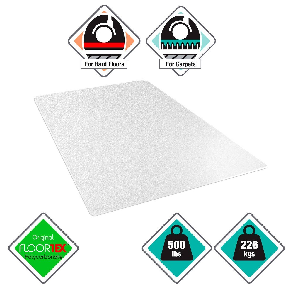"""Image of """"46""""""""x60"""""""" Megamat Heavy Duty for Hard Floors or Carpets - Cleartex"""""""
