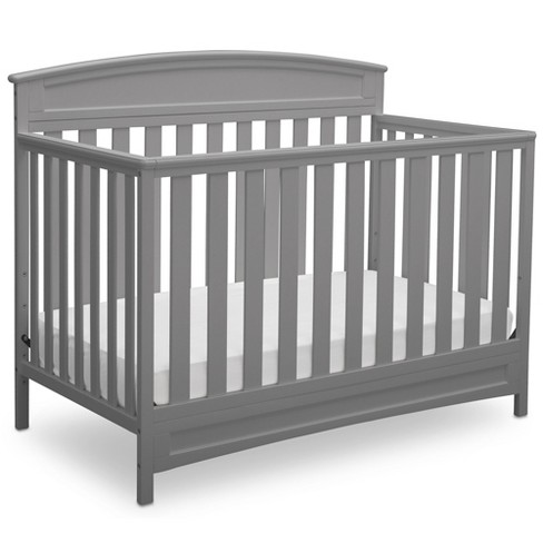 Delta Children Sutton 4-in-1 Convertible Crib  - Gray - image 1 of 5