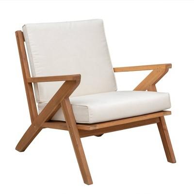 Oslo Wooden Armchair - Balkene Home