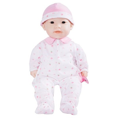 """JC Toys La Baby 16"""" Doll - Pink Outfit"""