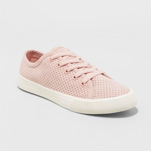 Women's Jena Lace Up Sneakers - Universal Thread™ Pink - image 1 of 3