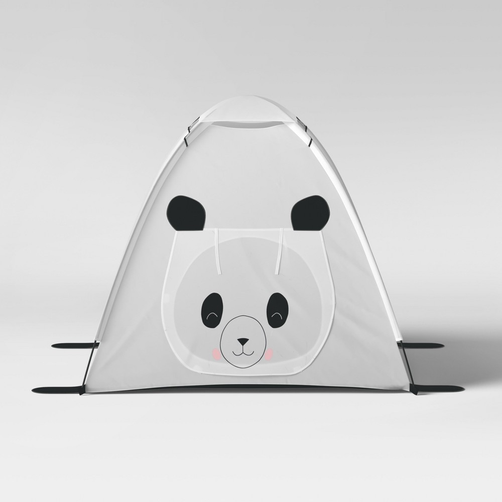 Panda Bear Play Tent - White - Pillowfort