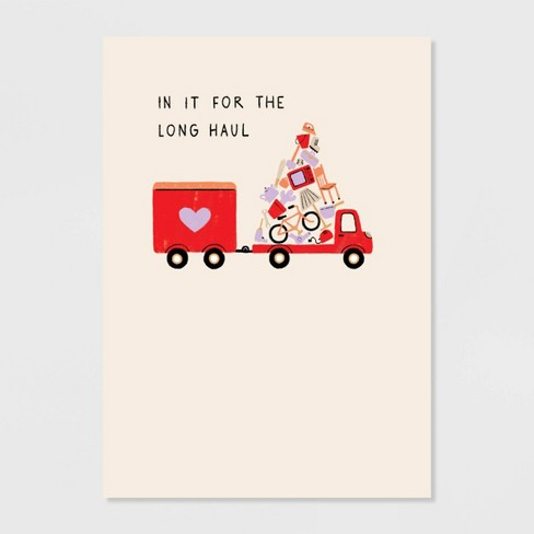 Long Haul Valentine's Day Greeting Card - image 1 of 4