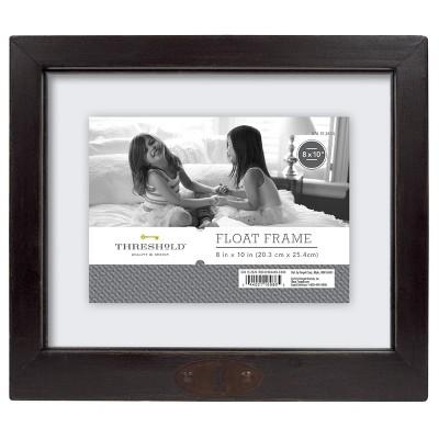 "8""X10"" Reclaimed Wood Frame Black - Threshold™"