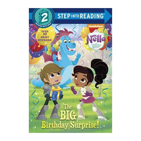The Big Birthday Surprise! (Nella the Princess Knight) - (Step Into Reading - Level 2) (Paperback) - image 1 of 1