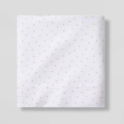 Micro Dot Flat Sheet Separates Beige - Pillowfort™