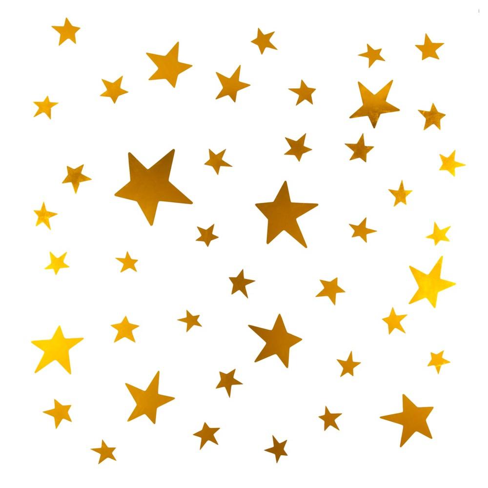 Wall Decal Stars - Cloud Island Gold