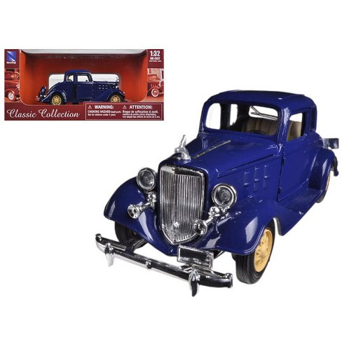 1933 Chevrolet 2 Passenger 5 Window Coupe Blue 1/32 Diecast Model Car by New Ray - image 1 of 1