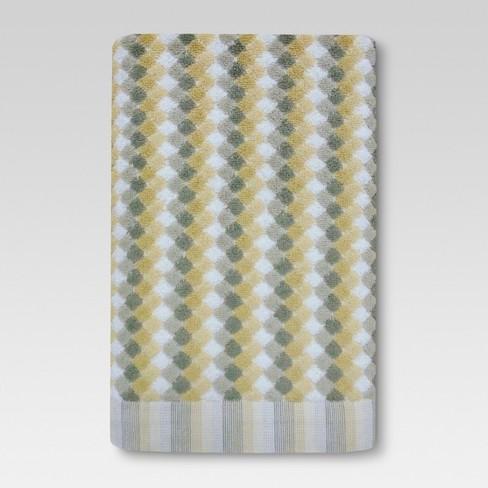 Sensational Bath Towels Dot Gray Tan Threshold Home Interior And Landscaping Dextoversignezvosmurscom