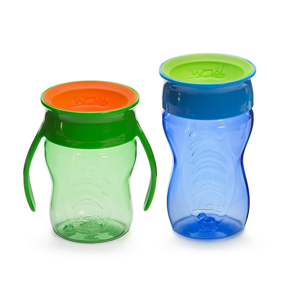 Image of WOW Tritan Cup Stages - Green/Blue 7&10oz