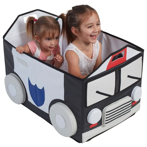 ECR4Kids SoftZone My Safe Space Toy Police Car for Kids - image 1 of 3