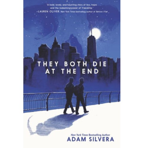 They Both Die at the End -  by Adam Silvera (Hardcover) - image 1 of 1
