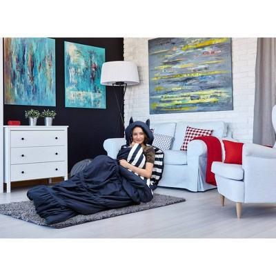 "32""x75"" Frankie Sleeping Bag Navy - Chic Home Design"