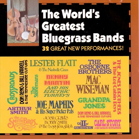 Various - World's greatest bluegrass bands (CD) - image 1 of 1