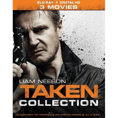 Taken: 3-movie Collection (Blu-ray)