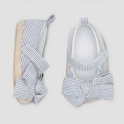 Baby Girls' Espadrille G Skimmer - Cat & Jack™ Blue 3-6M