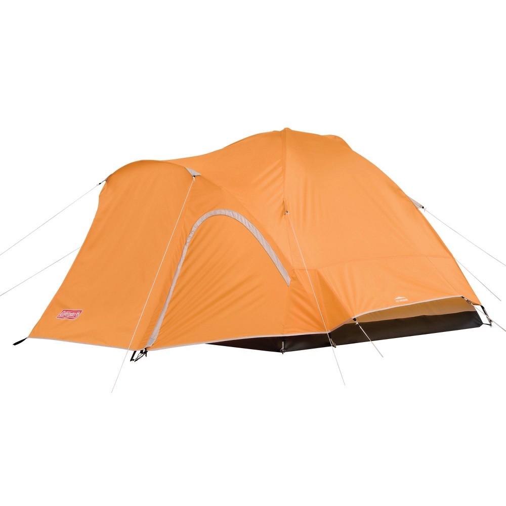 Image of Coleman Hooligan 3-Person Backpacking Tent - Orange