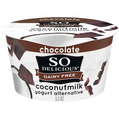 So Delicious Dairy-Free CoconutMilk Chocolate Yogurt Alternative - 5.3oz