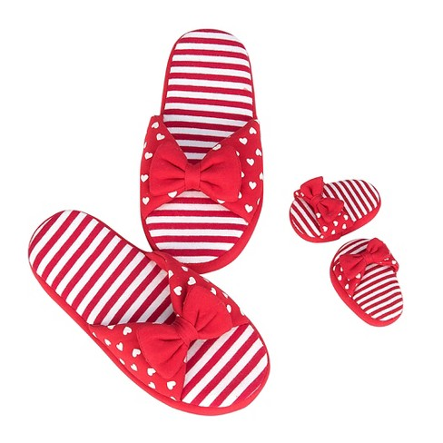 Our Generation® Me & You Shoes - Red Jersey Slip-Ons - image 1 of 3