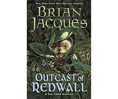 Outcast of Redwall (Reissue) (Paperback) (Brian Jacques) - image 1 of 1