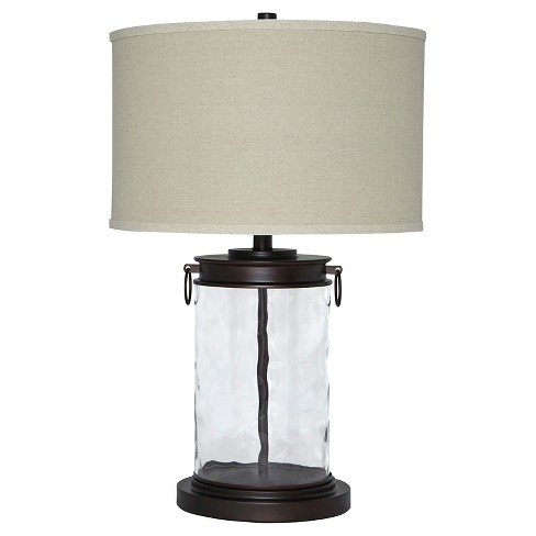 Tailynn Table Lamp Clear Bronze Finish Signature Design By Ashley
