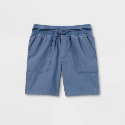 OshKosh B'gosh Toddler Boys' Woven Pull-On Chino Shorts - Blue