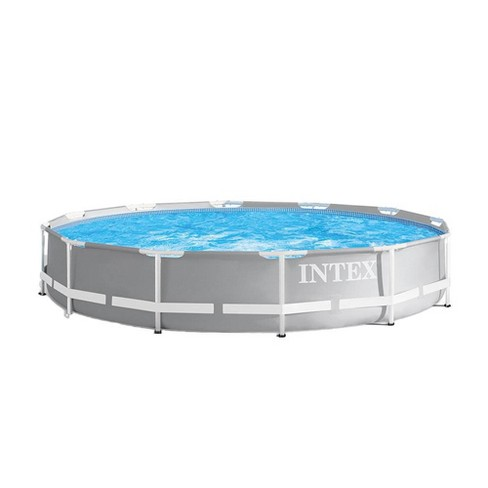 Intex 26711EH 12ft x 12ft x 30in Prism Frame Above Ground Swimming Pool w/  Pump