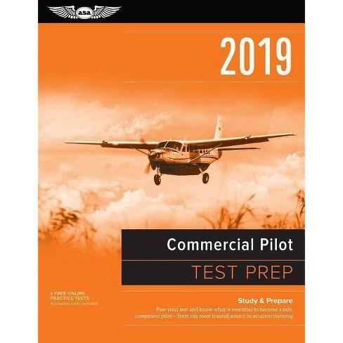Commercial Pilot Test Prep 2019 - by Asa Test Prep Board (Paperback)
