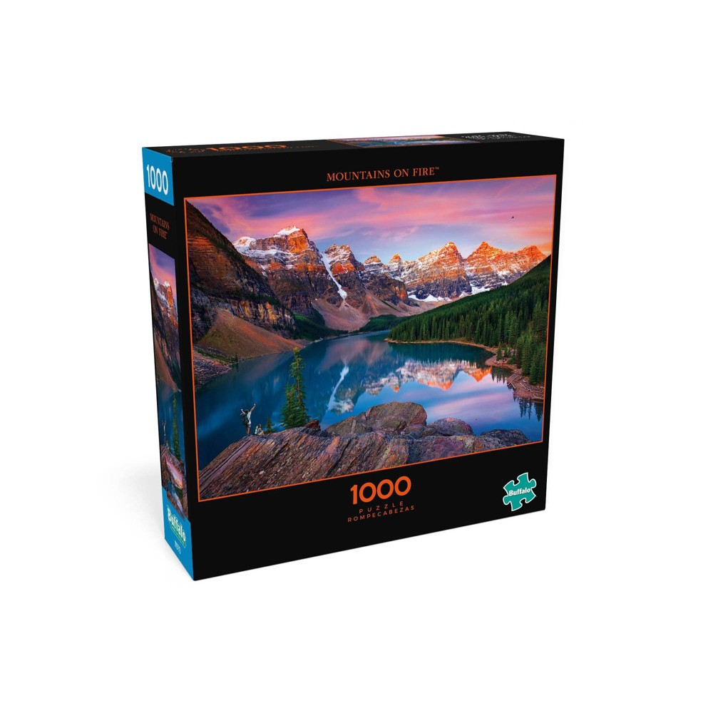 Buffalo Games Photography Mountains Of Fire Jigsaw Puzzle 1000pc