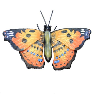 """Home & Garden 30.0"""" Butterfly Painted Lady Stake Yard Decor Regal Art & Gift  -  Decorative Garden Stakes"""