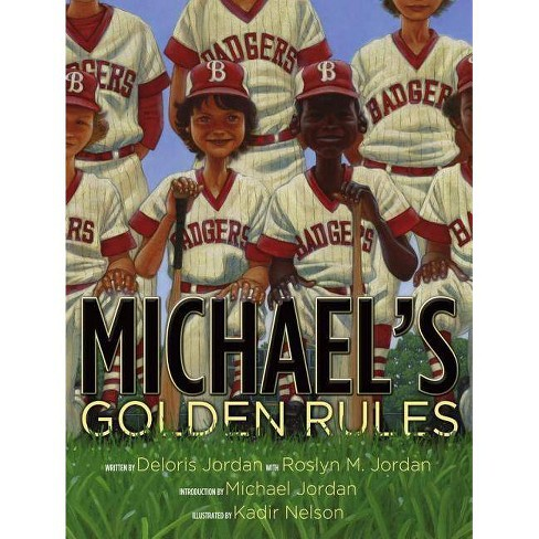 Michael's Golden Rules - by  Deloris Jordan (Hardcover) - image 1 of 1