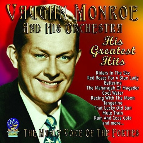 Vaughn Monroe - Manly Voice Of The Forties (CD) - image 1 of 1