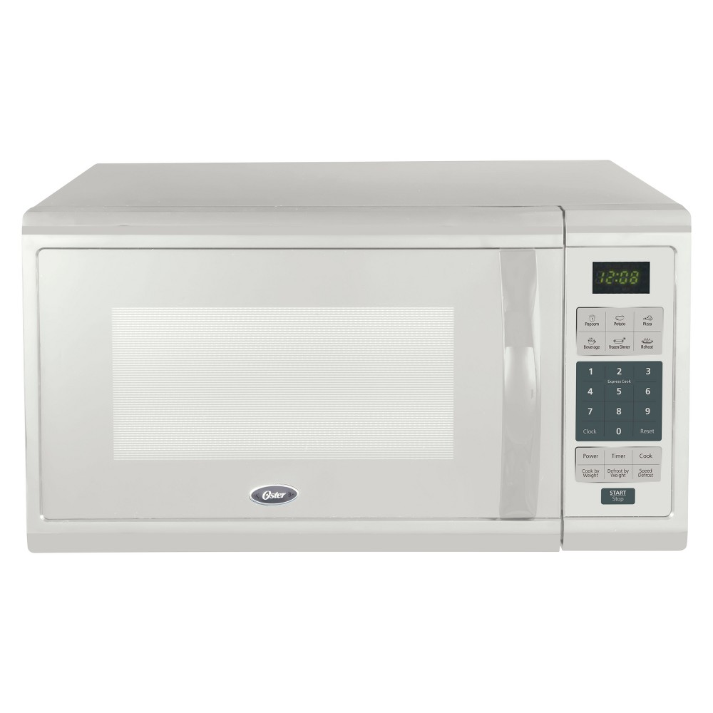 Oster 1.1 cu ft 1000W Microwave – White OGCMZJ11WE-10 53241387